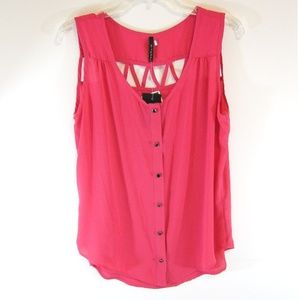 💚 5 for $25! NWT B Jewel Pink Tank Top